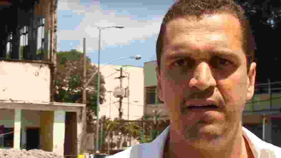 Eduardo Fauzi é apontado como um dos participantes de ataque com bombas na produtora - Reprodução/YouTube