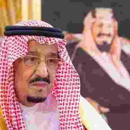 Rei Salman, da Arábia Saudita, em Riad - SAUDI ROYAL COURT/Reuters