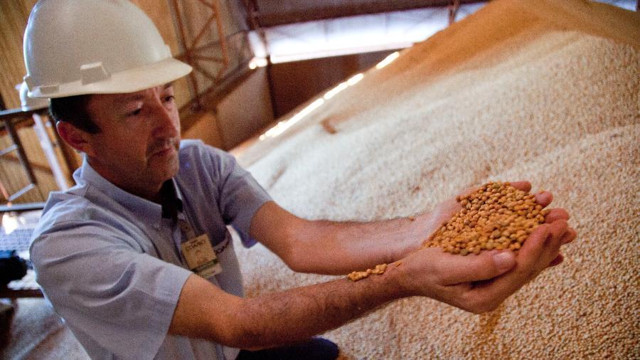 Colheita de soja no Brasil - In Pictures Ltd./Corbis via Getty Images