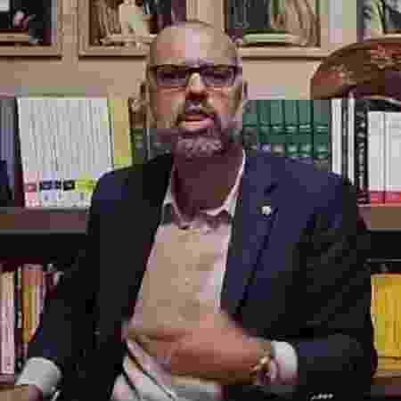 O blogueiro Allan dos Santos, do Terça Livre, foi alvo da PF - Reprodução/Facebook - Reprodução/Facebook