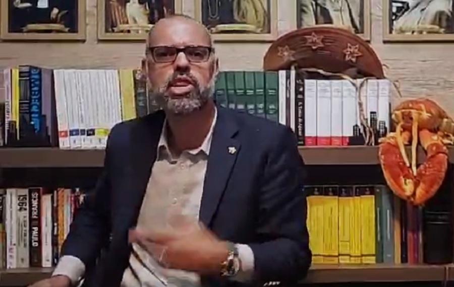 Allan dos Santos diz que Moraes deu maior golpe na história do STF