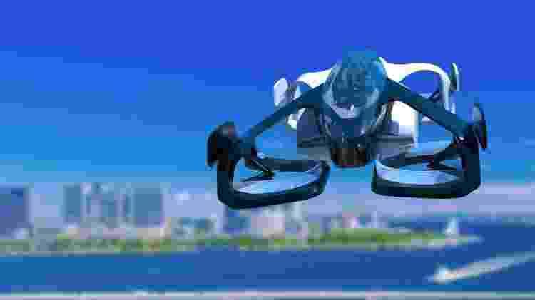 Aeronave do tipo VTOL parece mais um drone tripulado - Divulgação - Divulgação