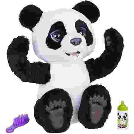 Figura Plum, filhote de panda curiosa - FurReal - Divulgação - Divulgação