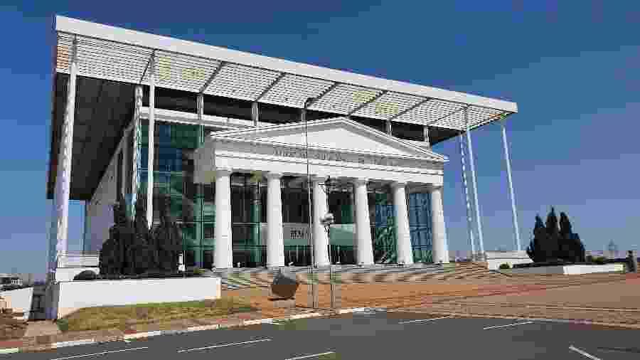 O Theatro Municipal de Paulínia (SP), cidade no interior paulista - Thiago Varella/UOL
