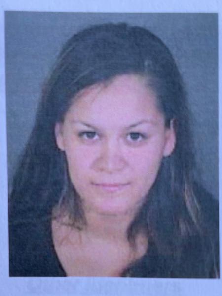 Liliana, mãe das crianças, foi identificada como suspeita de um roubo de carro, antes de ser detida - Reprodução/Twitter/LAPD