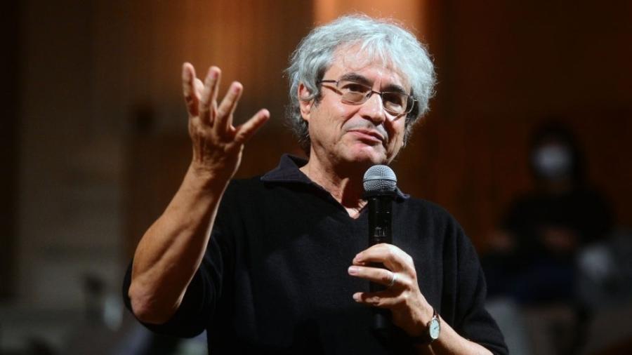 Carlo Rovelli em outubro de 2020, durante apresentação na Universidade de Bolonha, na Itália - Roberto Serra/Iguana Press/Getty Images