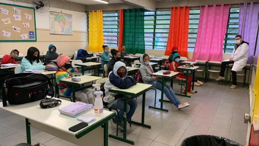 Anuário aponta que fechamento das escolas foi um dos motivos para queda nas despesas de educação nos estados - Ana Paula Bimbati/UOL
