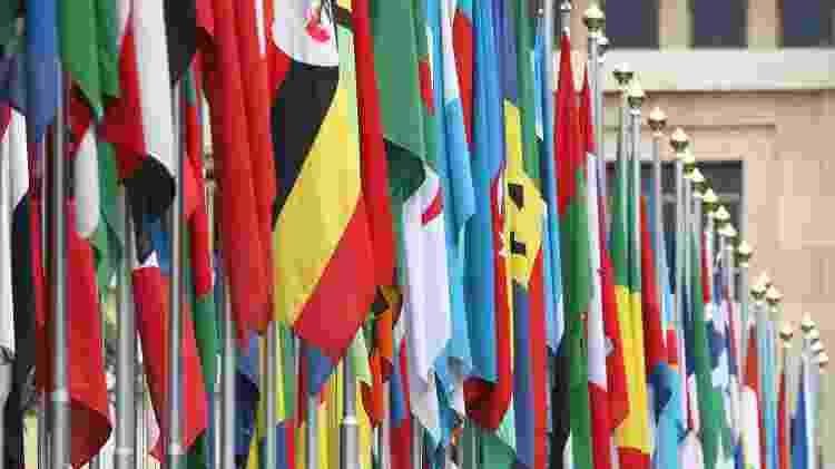 ONU inclui 193 países que são membros efetivos e dois Estados não-membros, a Santa Sé e a Palestina - GETTY IMAGES - GETTY IMAGES