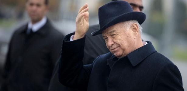Islam Karimov governa o Uzbequistão há mais de 25 anos