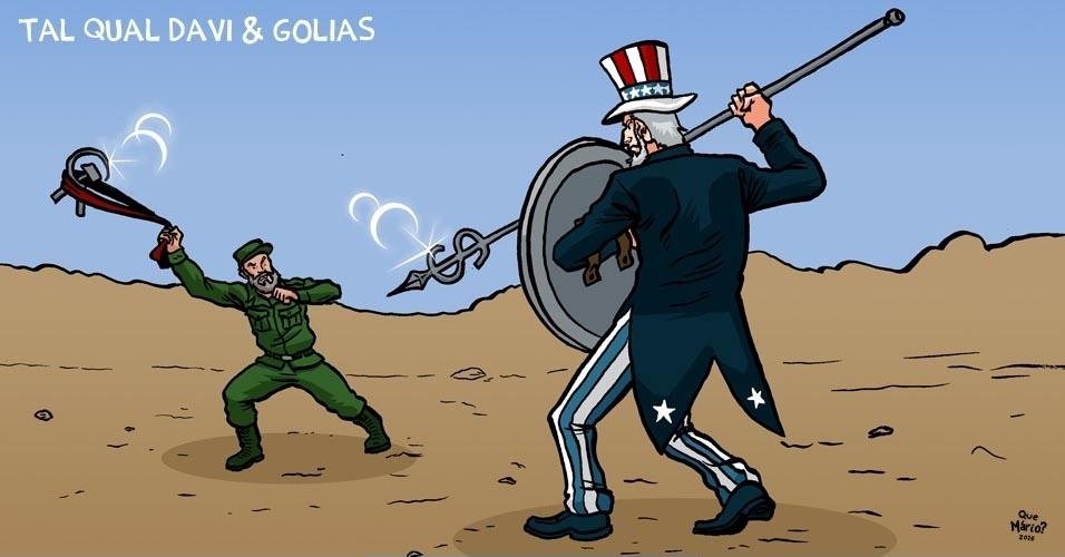 30.nov.2016 - A luta de Davi e Golias na geopolítica do século 20