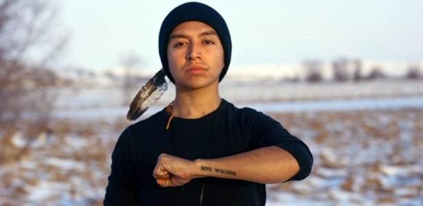Para Thomas Lopez, Standing Rock se tornou um movimento de afirmação