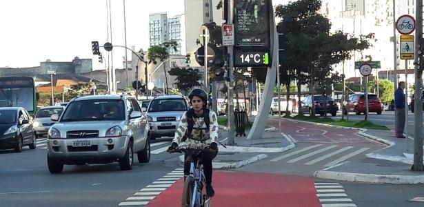 A manhã desta sexta-feira (2) começou com temperaturas baixas em São Paulo; na avenida Faria Lima, na zona oeste, os termômetros marcavam 14ºC por volta das 7h