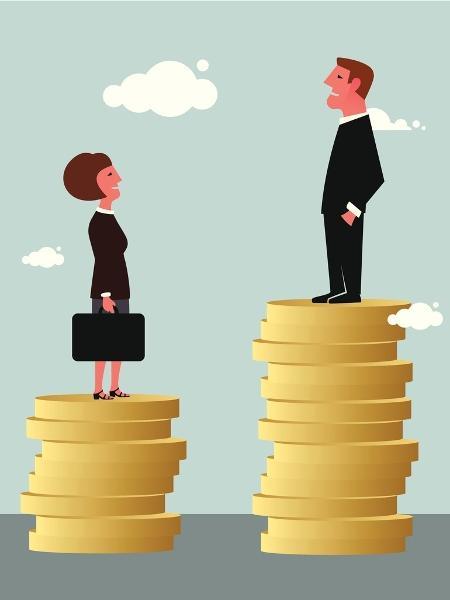 desigualdade sexos, gêneros, homem, mulher, salário, trabalho - Getty Images