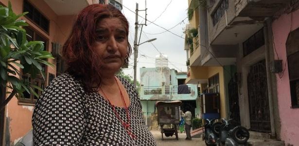 Sunita Devi diz que o agressor a deixou traumatizada