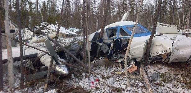 Queda de avião ocorreu no extremo leste da Rússia, próximo à fronteira com a China