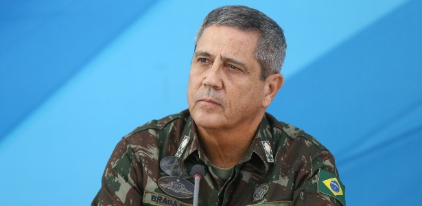 Braga Netto se reuniu com governador Luiz Fernando Pezão (MDB)