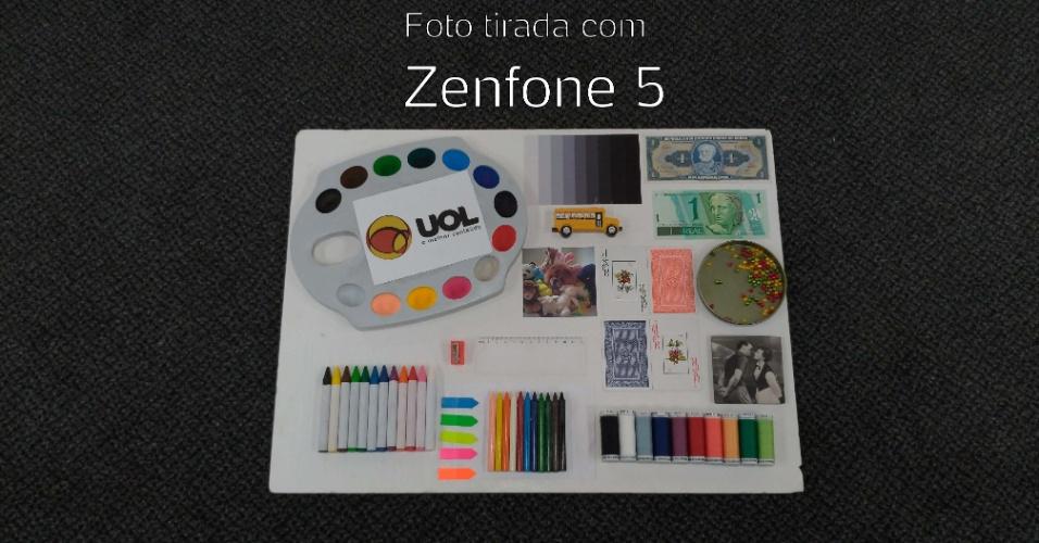 Foto tirada com câmera traseira do Zenfone 5