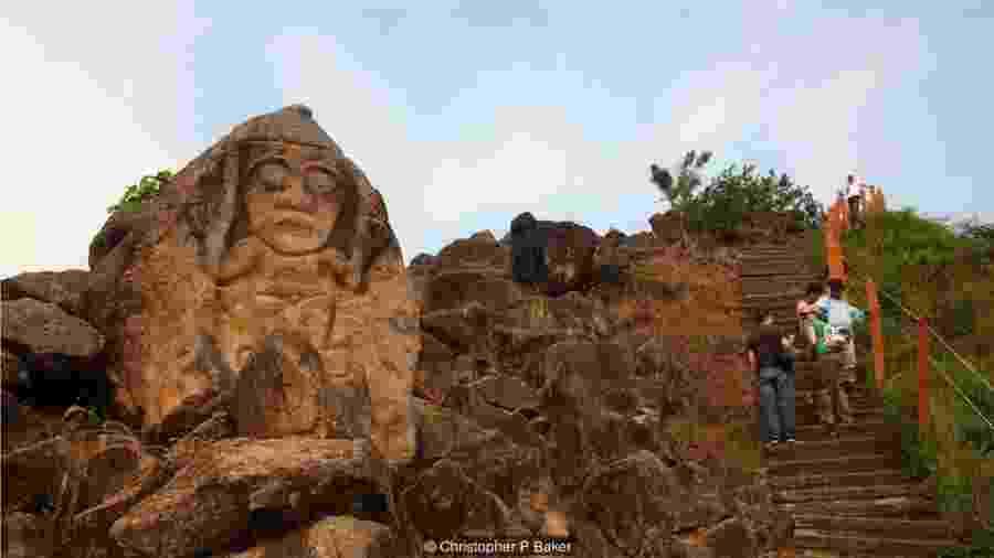 Parque colombiano tem maior coleção de monumentos religiosos e esculturas megalíticas da América do Sul  - Christopher P Baker/BBC Travel