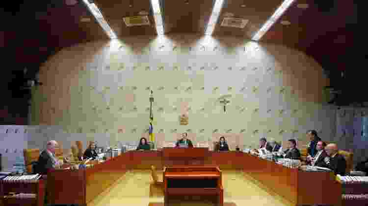O plenário do Supremo Tribunal Federal - Rosinei Coutinho/STF/29.nov.2018