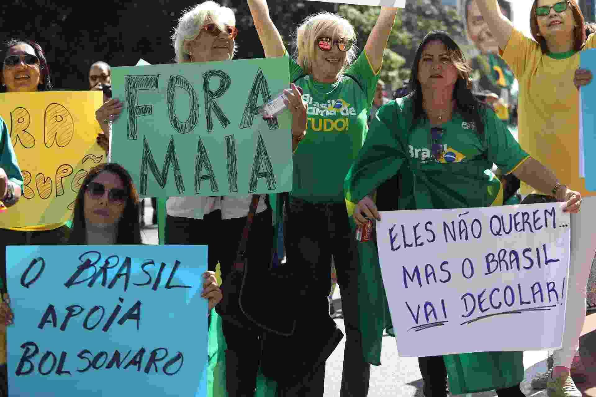 Manifestação a favor do governo em São Paulo - Renato.S Cerqueira/Futura Press/Estadão Conteúdo