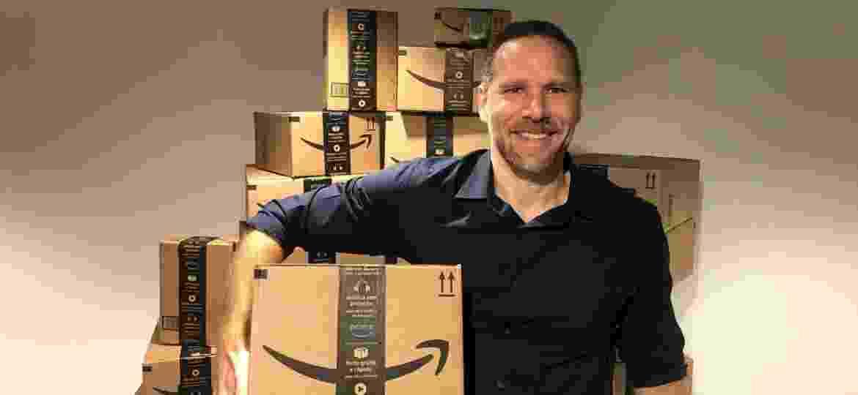 Alex Szapiro, gerente regional da Amazon no Brasil - Helton Simões Gomes/UOL