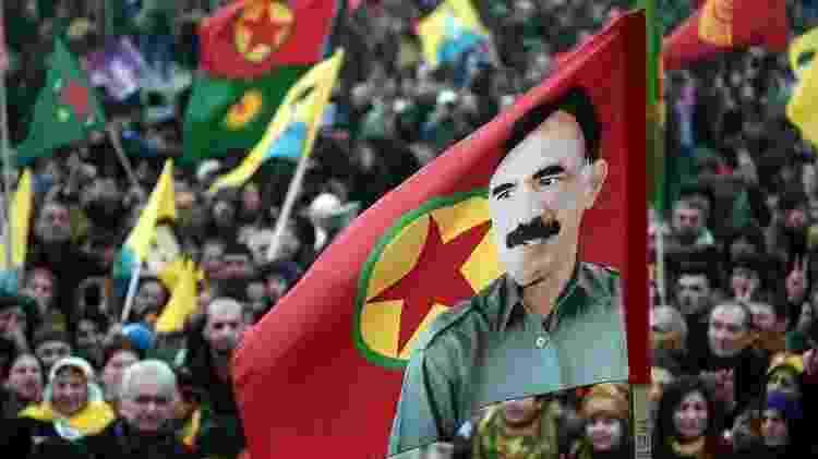 Abdullah Ocalan, líder do PKK, está preso na Turquia desde 1999 - AFP