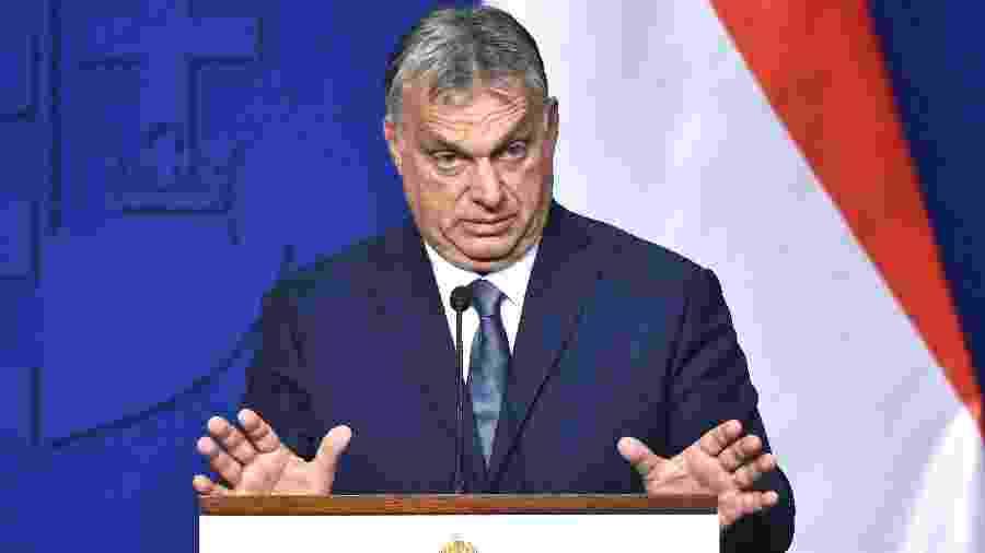 Viktor Orban, premiê da Hungria - Attila KISBENEDEK / AFP