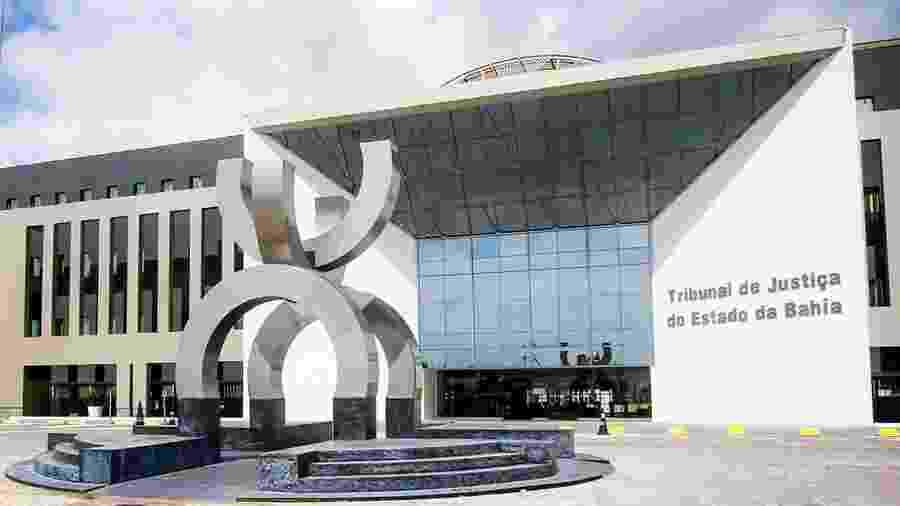 Fachada do Tribunal de Justiça da Bahia - Divulgação