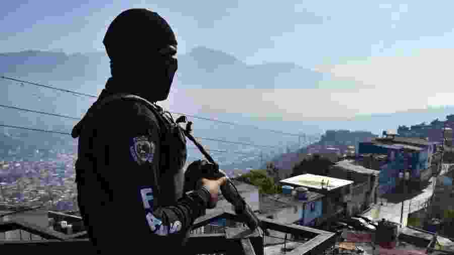 Relatório da ONU denunciou execuções promovidas pela Faes e recomendou sua dissolução e investigação - Getty Images/BBC
