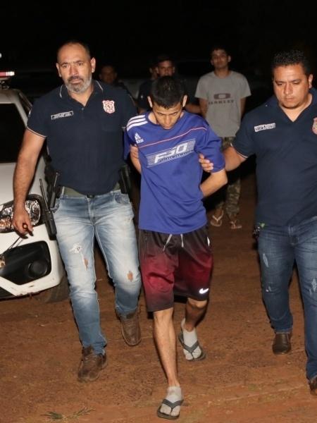 Um dos presos recapturados após fuga em presídio no Paraguai - Divulgação