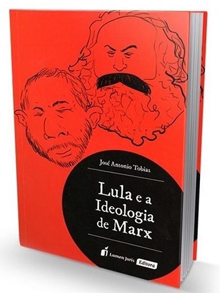 """""""Lula e a Ideologia de Marx"""", um do livros dados de presente a Bolsonaro - Reprodução"""
