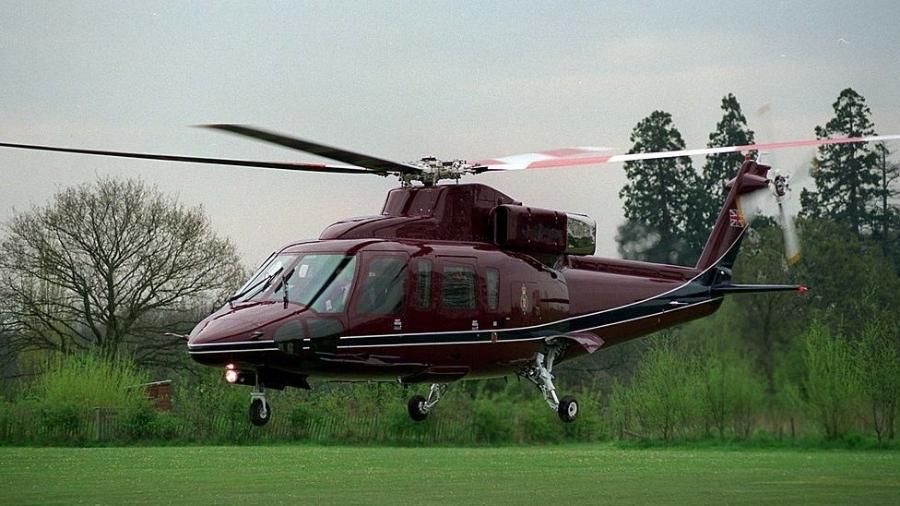 O modelo Sikorsky S-76 é normalmente usado para transportar autoridades, empresários e celebridades - Getty Images