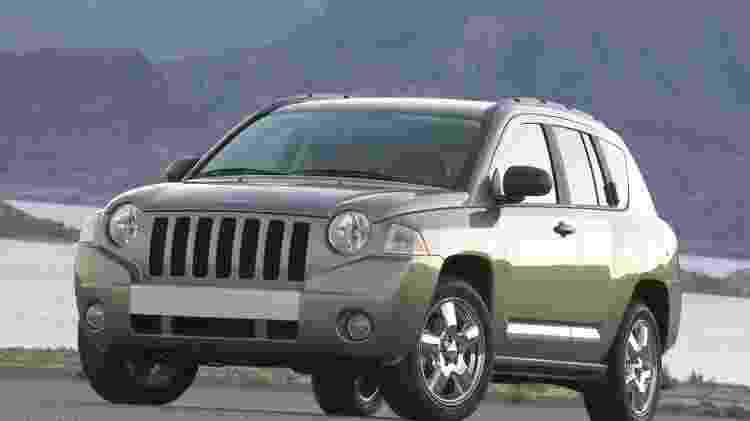 Jeep Compass 2007 - Divulgação  - Divulgação