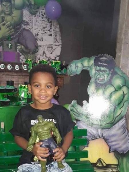 Enzo morreu durante a festa de aniversário de quatro anos - Arquivo pessoal