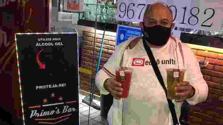 Odair Pereira, 45, proprietário do Primo's Bar, que tem duas unidades localizadas na Cohab 2, Itaquera - Arquivo pessoal - Arquivo pessoal