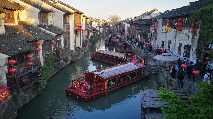 O bucólico centro de Suzhou: vila tradicional usa dinheiro tecnológico - Yue Wu/ Pixabay