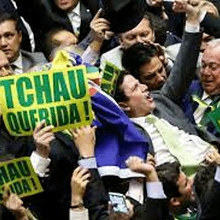 Sessão da Câmara que autorizou o impeachment de Dilma Rousseff - Agência Brasil