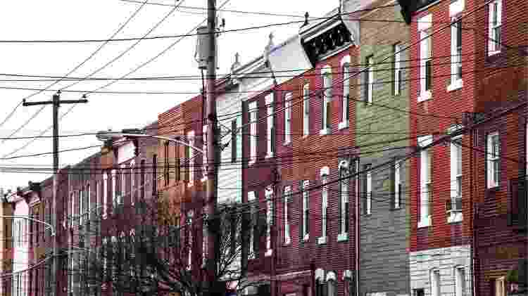 Os Ligons moravam no sul da Filadélfia - Getty Images - Getty Images
