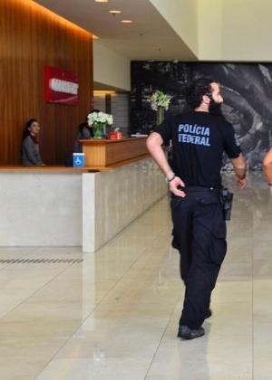 Polícia Federal cumpriu mandados de buscas na sede da Odebrecht, em São Paulo