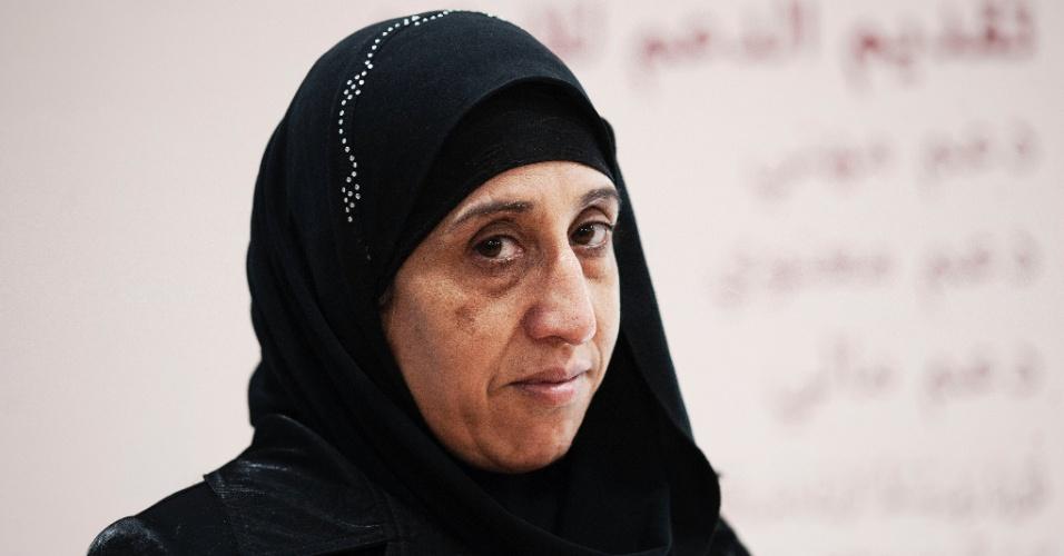 10.jun.2016 - Huda Nawrasi,45, nasceu em Damasco na Síria. Veio para o Brasil após o marido, que trabalhava como taxista em Damasco, morrer quando uma bomba explodiu ao lado do seu carro