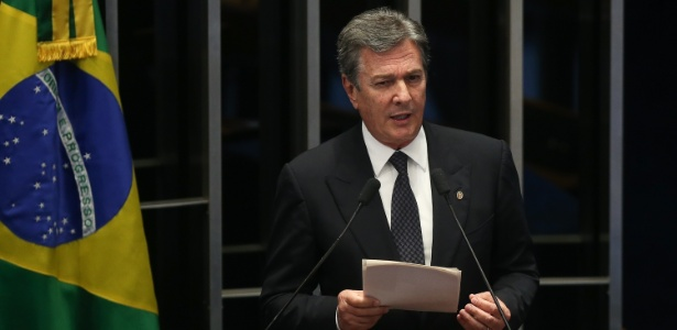 Senador Fernando Collor de Mello (PTC-AL) pode se tornar réu no STF