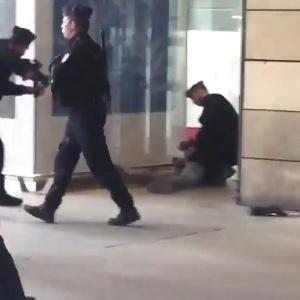 Estação de Paris teve princípio de pânico com prisão de homem que portava faca
