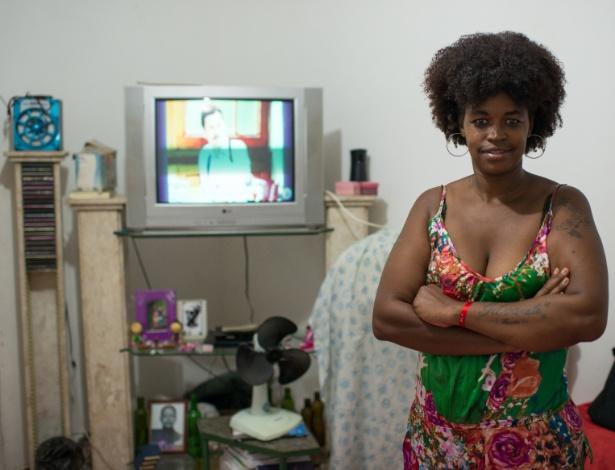 Tatiana Cristina da Silva tem 34 anos e, desde 2013, está desempregada no Rio - Lucas Landau/UOL