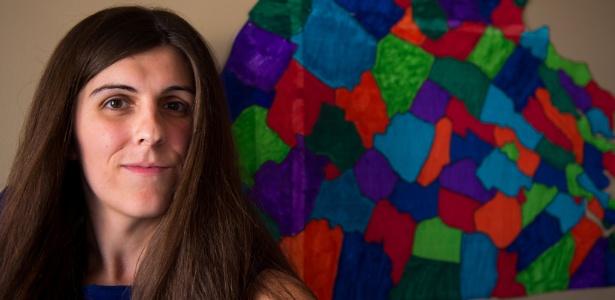 Danica Roem, candidata transgênero que foi eleita na Virgínia, EUA
