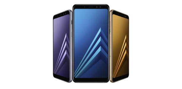 0ef2c185f Galaxy A8 e A8+  tela