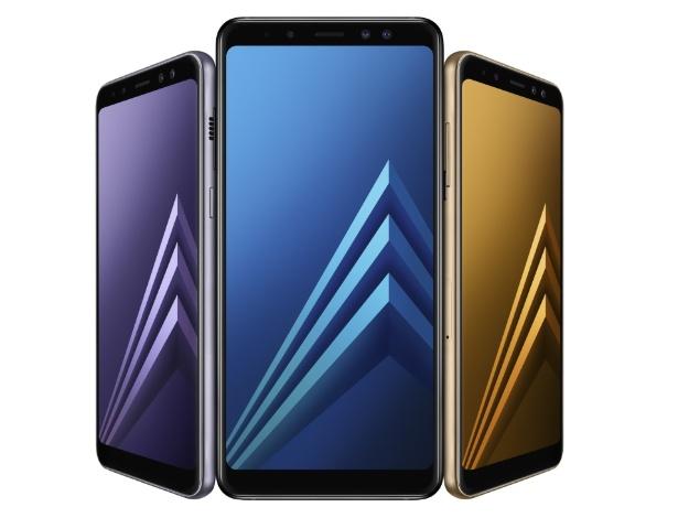 Galaxy A8 (2018) e A8 + (2018), celulares da Samsung