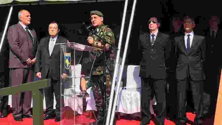 General Luiz Eduardo Ramos durante cerimônia em São Paulo em 2018 - Luís Adorno/UOL