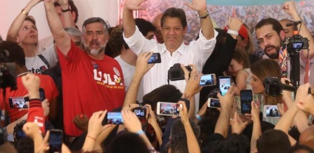 Haddad em seu primeiro discurso após eleição de Jair Bolsonaro