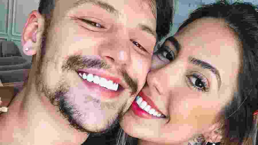 Gabi Brandt e Saulo Pôncio - Reprodução