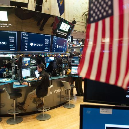 Bolsa de Nova York - Bryan R. Smith/AFP